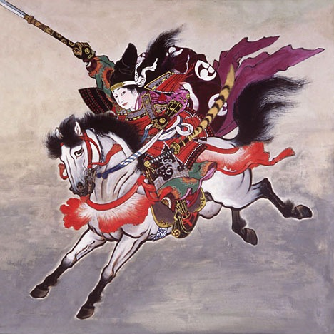 Tomoe Gozen who was woman's samurai