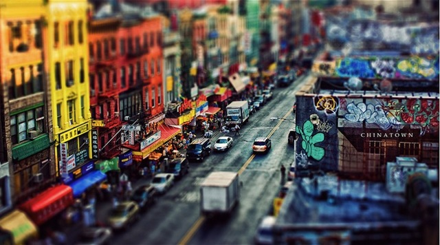 Tilt Shift City 001