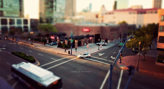 Tilt Shift City 003