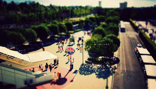Tilt Shift City 004