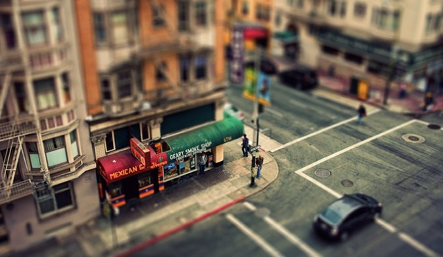 Tilt Shift City 011