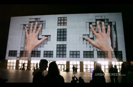 Building Projection Art